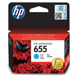 HP CZ110AE Ink Cart No.655 pro DJ4615, 5525, 600str., Cyan