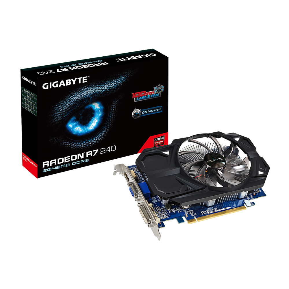 GIGABYTE VGA ATI Radeon R7 240 2GB DDR3 (Overclock)