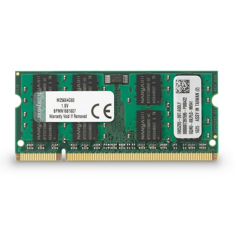 2GB DDR2-800 SODIMM Kingston CL6