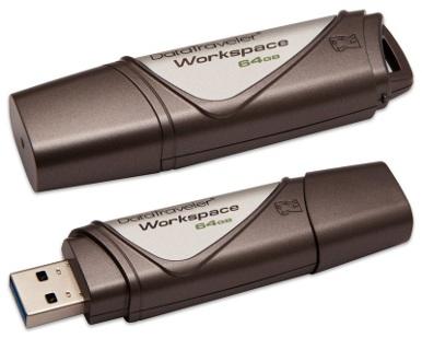 Kingston 64GB DataTraveler Workspace - Certified for Windows To Go Bulk Pack