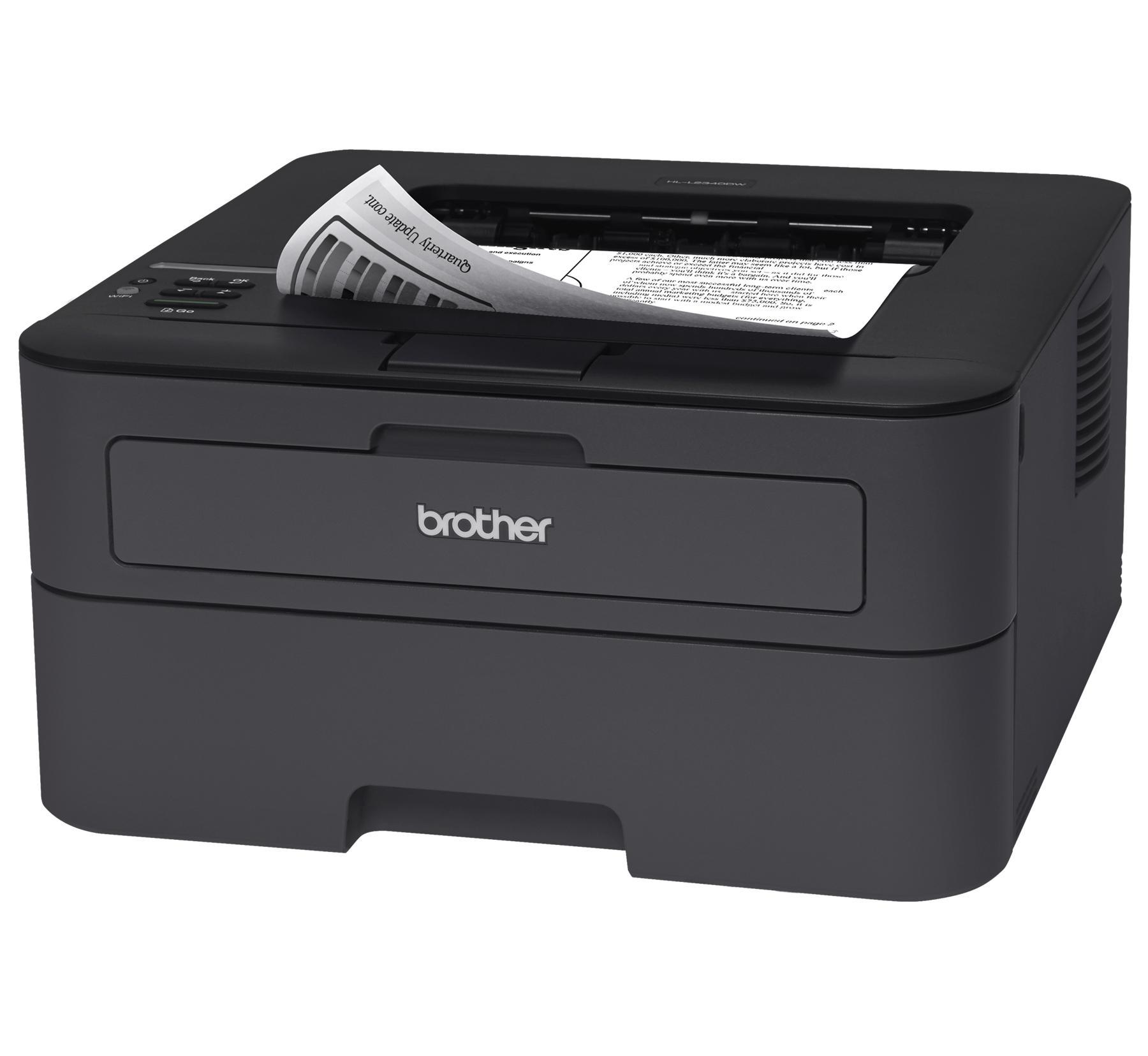 BROTHER tiskárna laserová mono HL-L2340DW - A4, 26ppm, 2400x600, 32MB, WiFi, GDI, USB 2.0