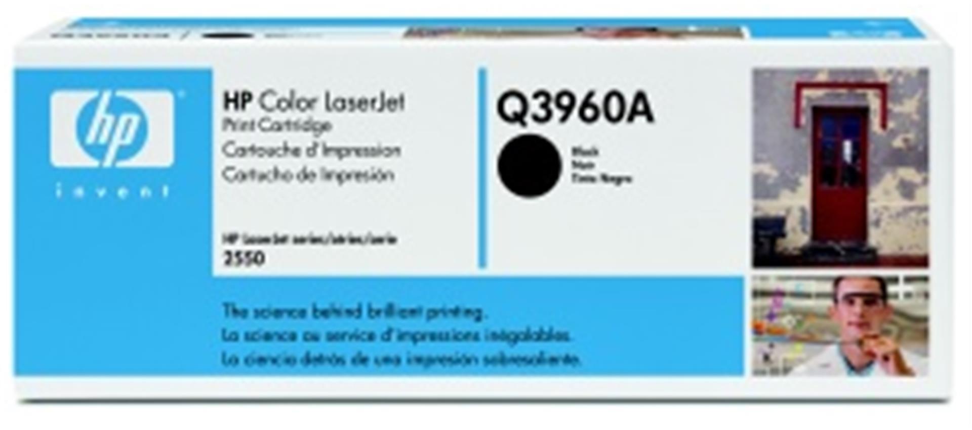 HP Q3960A Toner 122A pro CLJ 2550 (5000str), Black