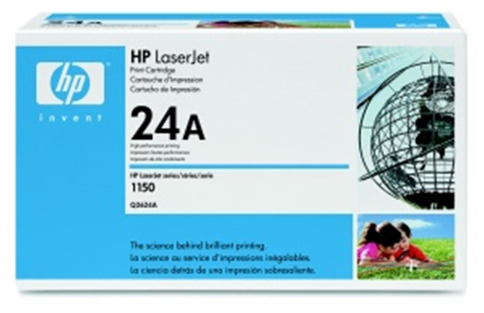 HP Q2624A Toner 24A pro LJ 1150, (2500str), Black