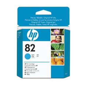 HP 82 Cyan DJ Ink Cart, 28 ml, CH566A