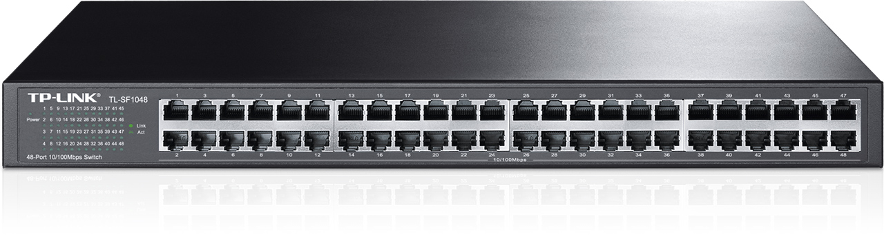 TP-Link TL-SF1048 48x 10/100Mb Rackmount Switch