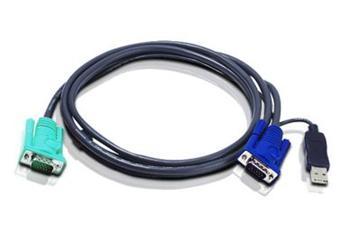 ATEN integrovaný kabel pro KVM USB 3 M pro CS1716