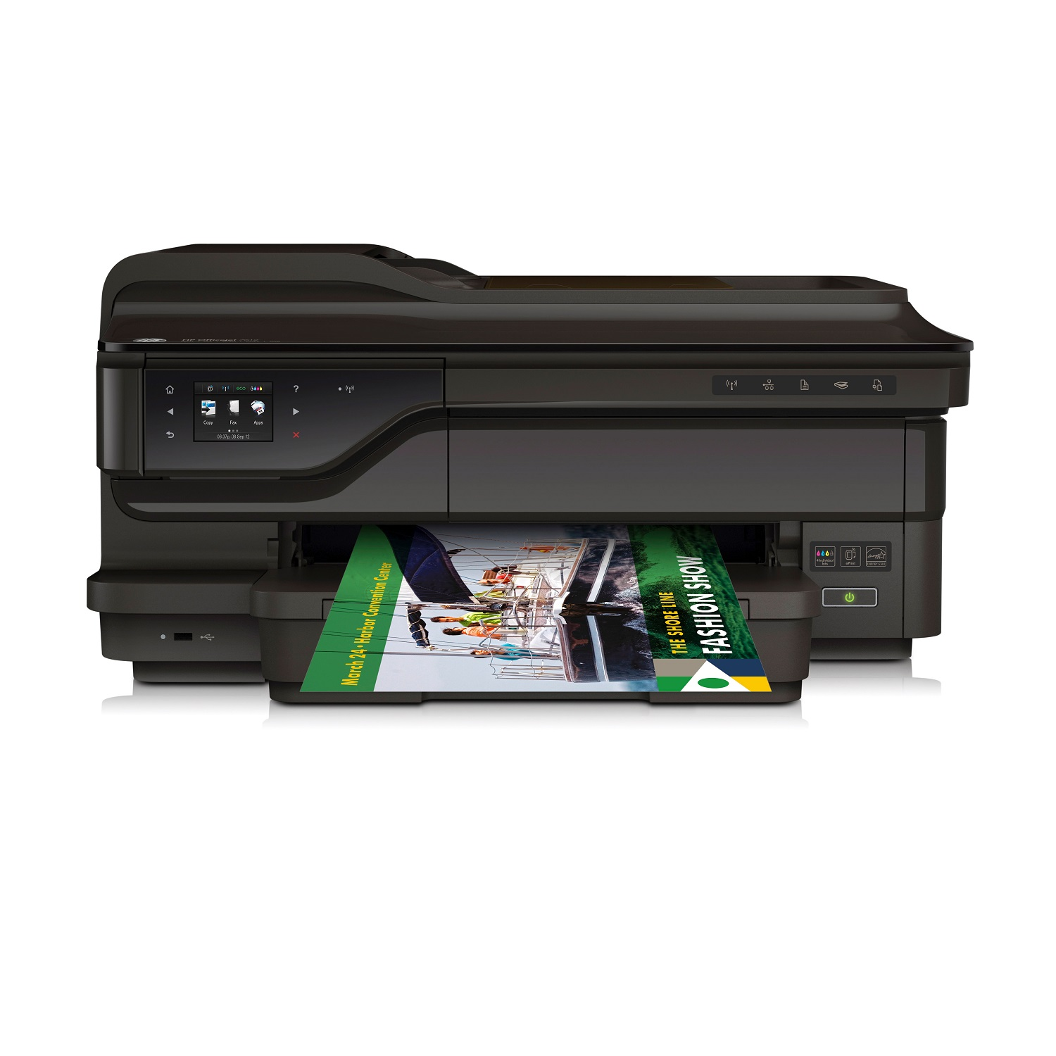 HP Officejet 7612 WF e-All-in-One A3,15ppm,Lan,WiF