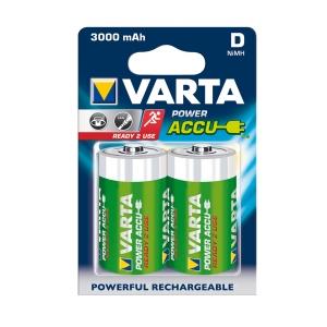 Akumulátory VARTA R20 (typD) 3000 mAh 2ks ready 2 use