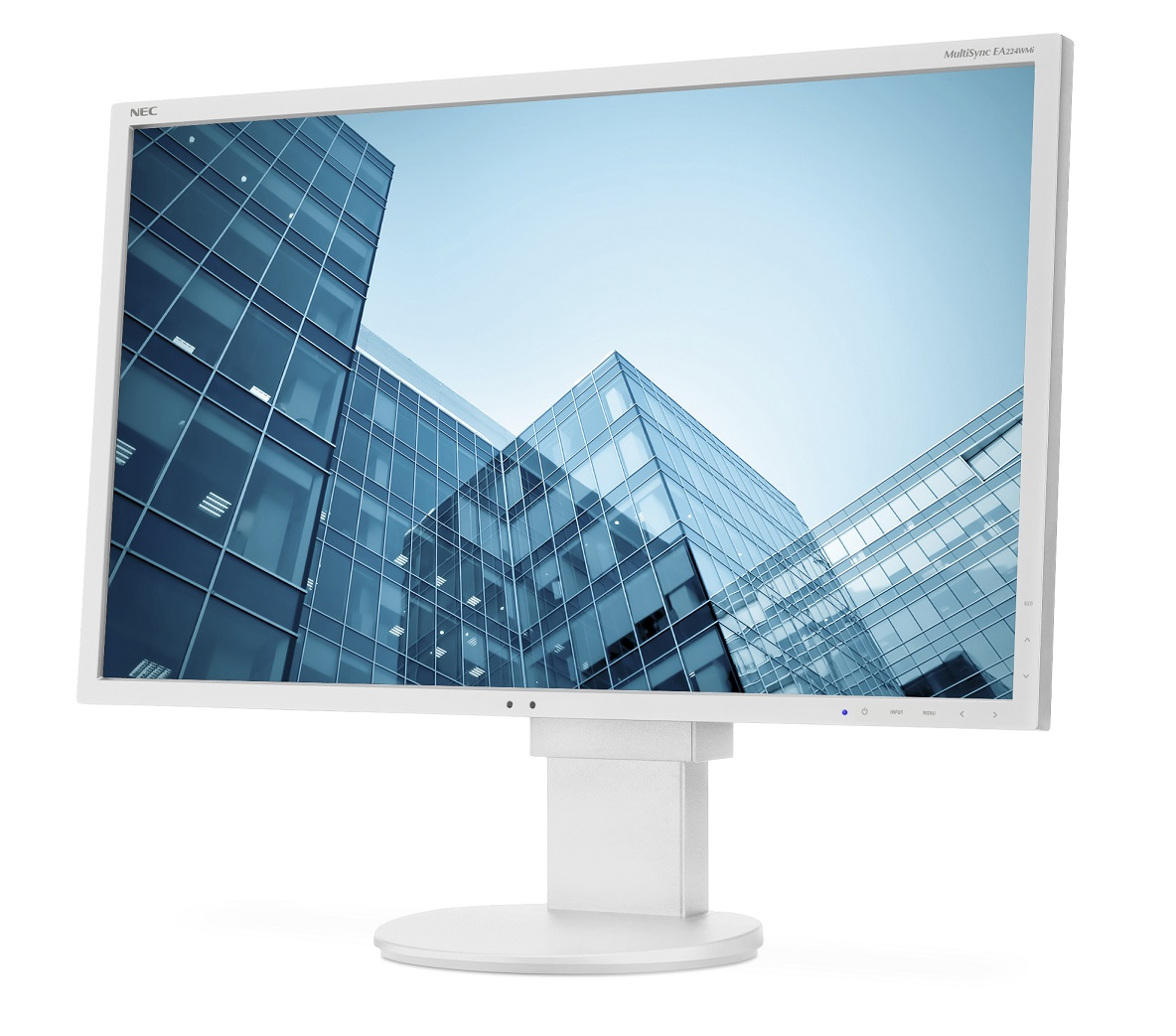 """NEC 22"""" EA224WMi - 1920x1080, IPS, W-LED, 250cd, D-sub, DVI, DP, HDMI, USB, Repro, bílý"""