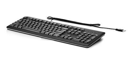 HP klávesnice USB černá CZ