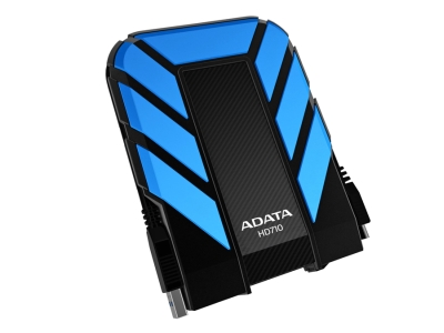 ADATA HD710 DashDrive™ Durable 1TB ext. HDD, USB3.0, water/shock proof, modrý