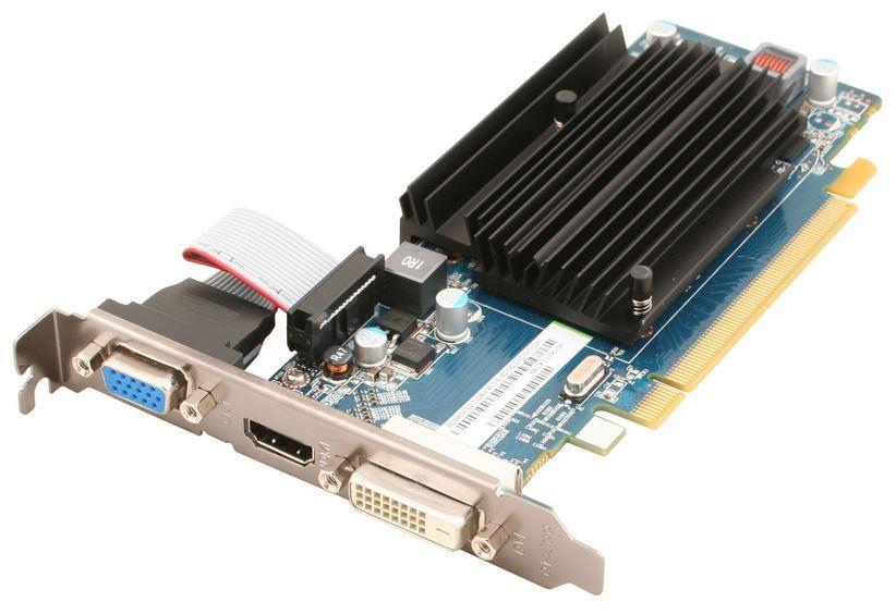 Sapphire Radeon HD 6450, 2GB DDR3 (64 Bit), HDMI, DVI-D, VGA, BULK