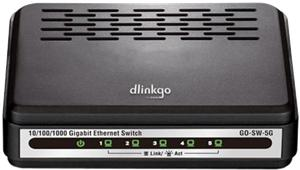 D-Link GO-SW-5G/E 5-Port GIGABIT EASY DESKTOP SWITCH