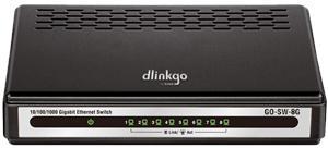 D-Link GO-SW-8G/E 8-Port GIGABIT EASY DESKTOP SWITCH