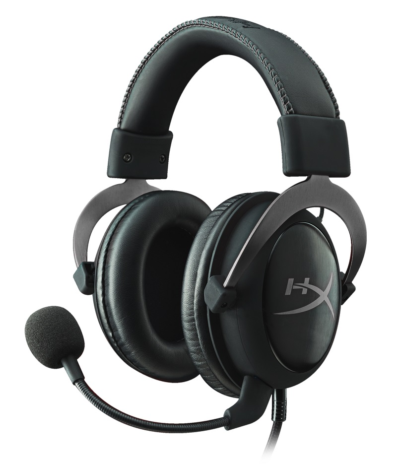 HyperX Cloud II - Pro Gaming Headset (Gun Metal) - stříbrný