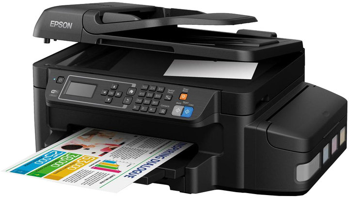 EPSON L655, A4, 4800x1200 dpi,33/20 ppm, USB ITS