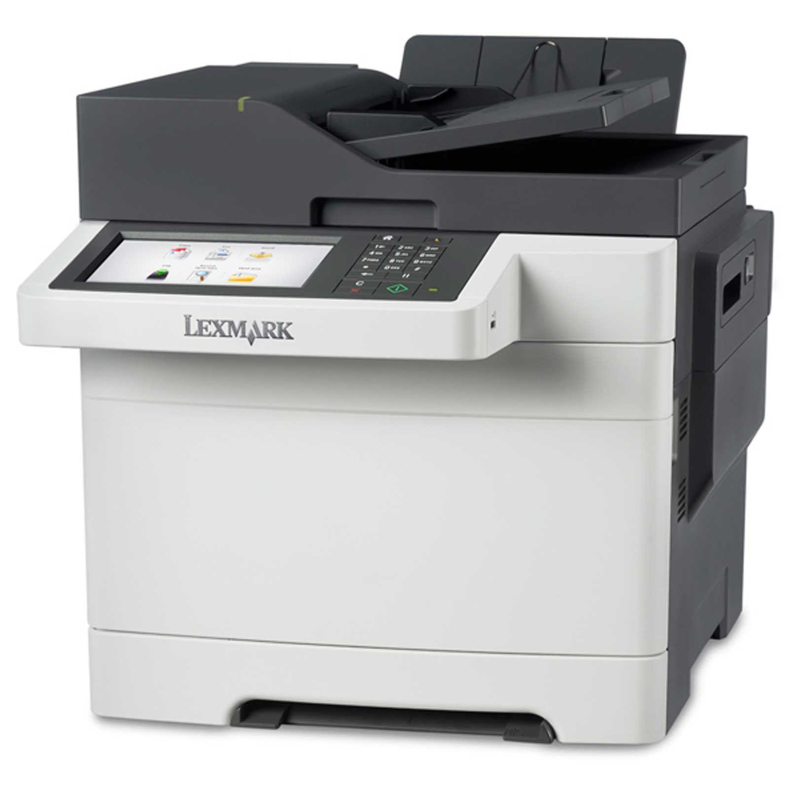 LEXMARK tiskárna CX510de A4 COLOR LASER, 30ppm, 1024MB USB, LAN, duplex, dotykový LCD