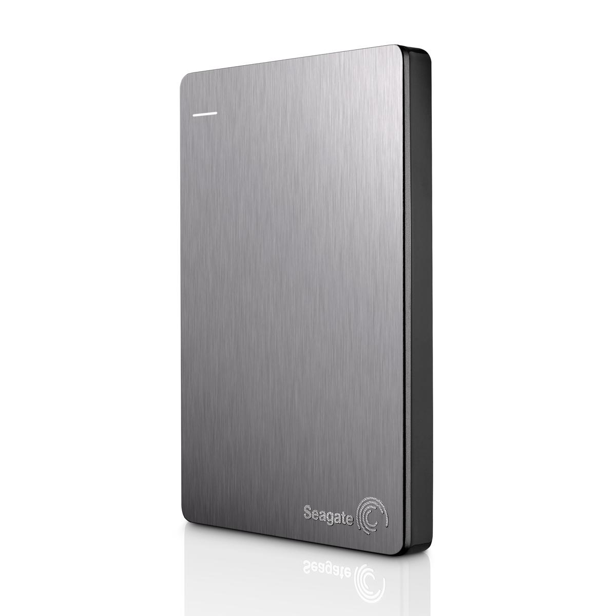 """Seagate Backup Plus, 1TB externí HDD, 2.5"""", USB 3.0, kovový stříbrný"""