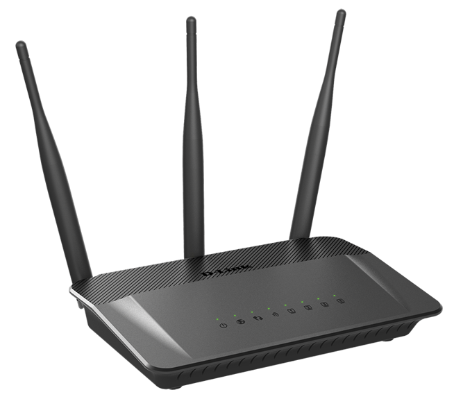 D-Link DIR-809/E Wireless AC750 Dual Band 10/100 Router with external antenna