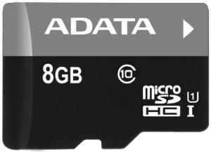 ADATA Premier micro SDHC karta 8GB UHS-I U1 Class 10