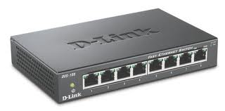D-Link 8-port 10/100 Metal Housing Desktop Switch