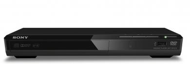 SONY DVP-SR370 Stylový tenký kompaktní přehrávač DVD se vstupem USB, SCART
