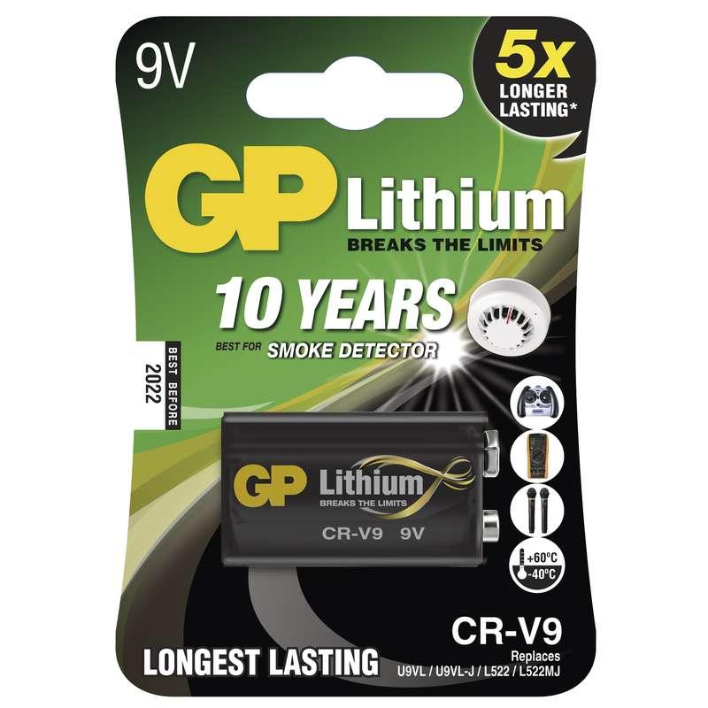 GP 9V CR-V9 lithiová - 1 ks