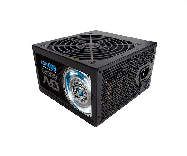 Zalman zdroj ZM600-GV 600W 80+ Bronze ATX12V 2.3 PFC 12cm fan