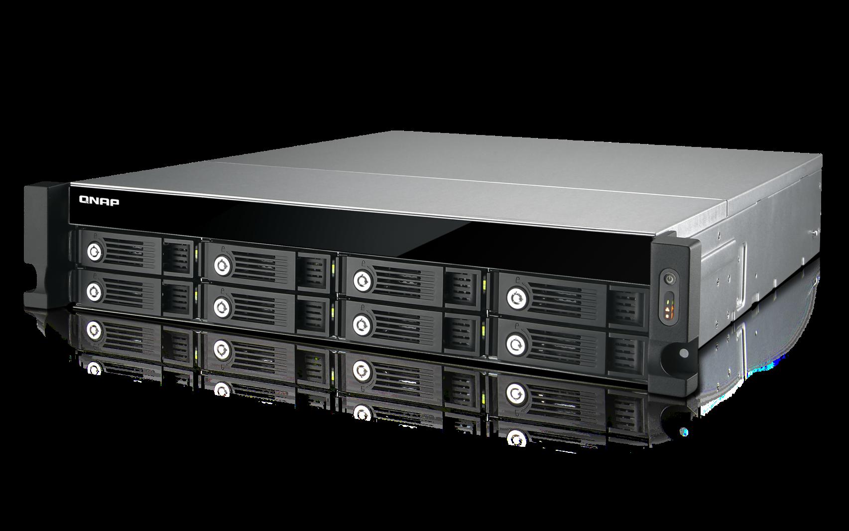 QNAP TS-853U-RP (2,41G/4GB RAM/8xSATA)
