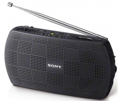 Sony rádio SRF-18 černý