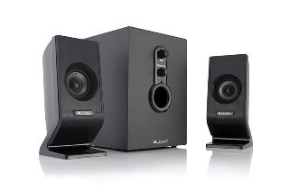 LOGIC reproduktory LS-21 černé [ 2.1 stereo ]