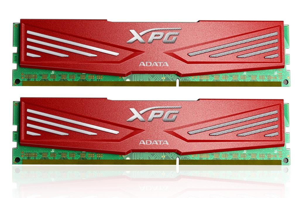 8GB DDR3-1866MHz ADATA XPG CL10 red, kit 2x4GB