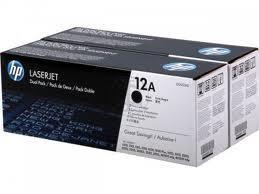 HP Q2612AD Toner 12A pro LJ 1010/12/15/18/20/22, 3015/20/30, (2x2000str), Black