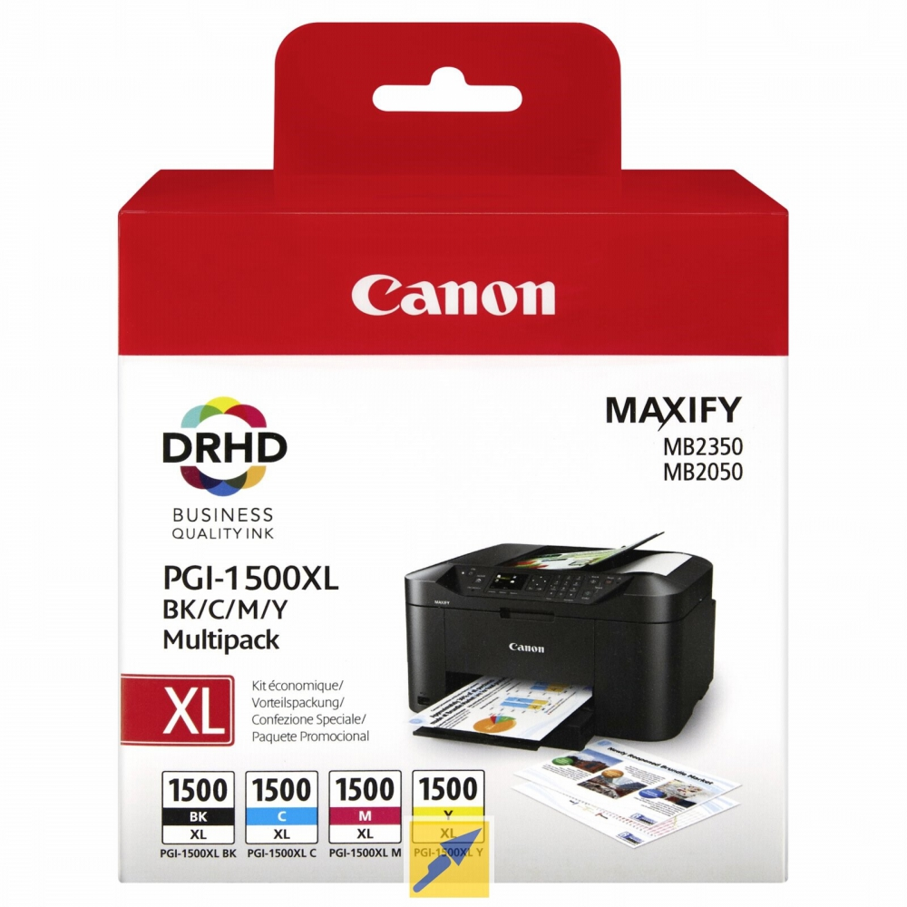 Canon cartridge INK PGI-1500XL BK/C/M/Y MULTI