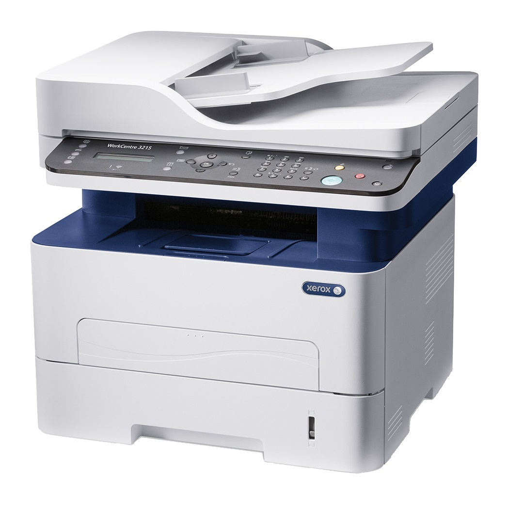 Xerox WC 3215V_NI, ČB laser. multifunkce, A4, USB/Ethernet, 128mb, ADF, 27ppm, Apple AirPrint, Google Cloud Print