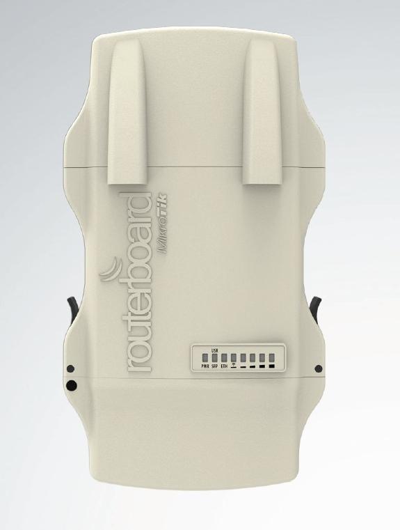 MikroTik NetMETAL5, RB921UAGS-5SHPacD-NM (dual-chain), 720MHz CPU,128MB RAM,1xLAN,1xSFP slot, vč.L4