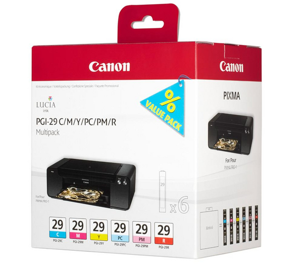 Canon BJ CARTRIDGE PGI-29 CMY/PC/PM/R Multi pro PIXMA PRO 1