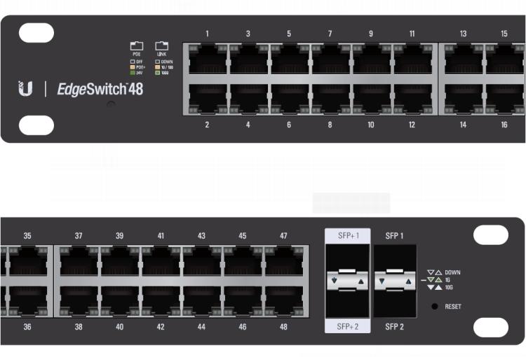Ubiquiti EdgeSwitch ES-48-500W 4P