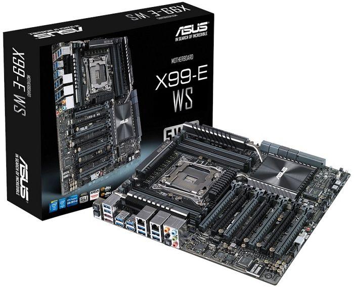 ASUS MB Sc LGA2011-3 X99-E WS, Intel X99, 8xDDR4