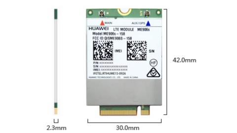 Lenovo Huawei ME906S 4G LTE Mobile Broadband Tx60/X260/Lx60/P50s/X1 (4th)
