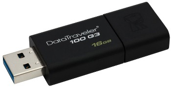 KINGSTON 16GB USB 3.0 DataTraveler 100 Gen3