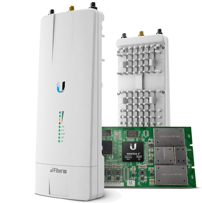 Ubiquiti airFiber 5X 5GHz Point-to-Point 500+ Mbps Radio