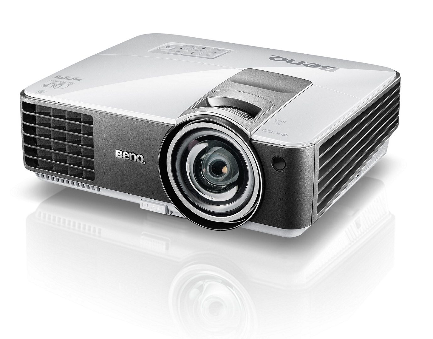 BenQ DLP Projektor MW820ST/WXGA/3000 ANSI/13000:1/LAN/HDMI/3D/1x10W repro