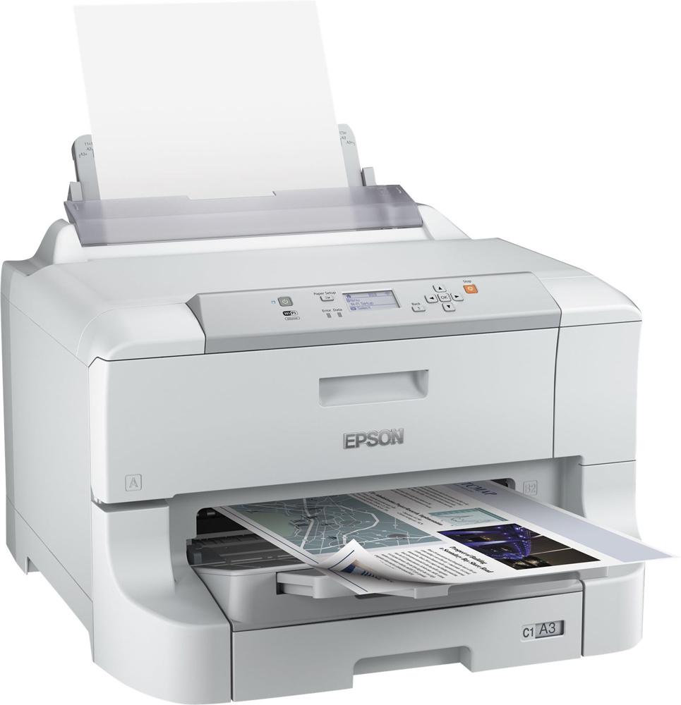 EPSON WorkForce Pro WF-8090DW (220V) + XXL černý inkoust zdarma