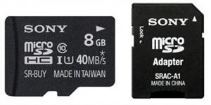 SONY SD Micro karta SR8UYA 8 GB
