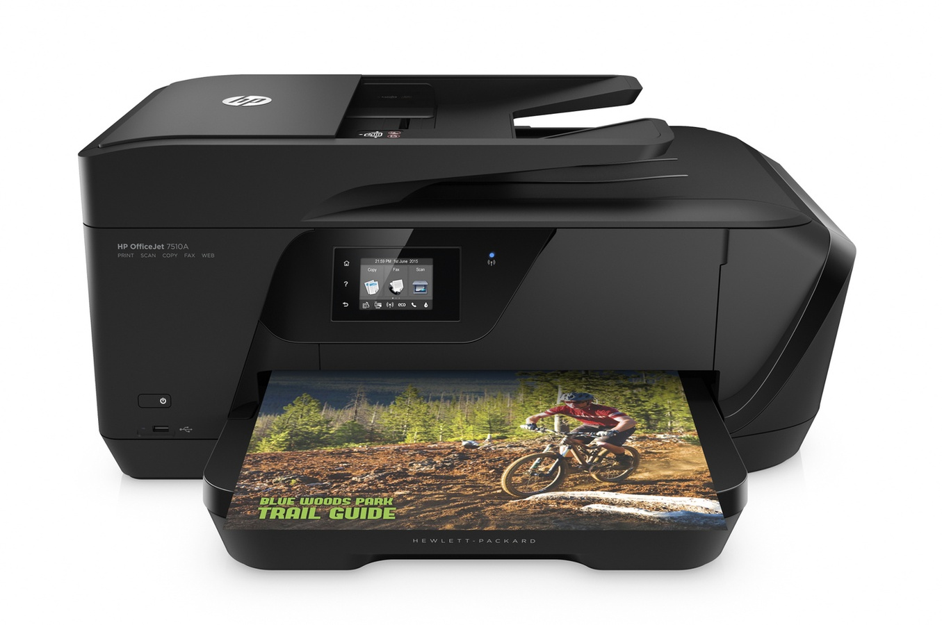 HP All-in-One Officejet 7510 Wide Format (A3+, 15/8 ppm, USB, Ethernet, Wi-Fi, Print/Scan/Copy/FAX)