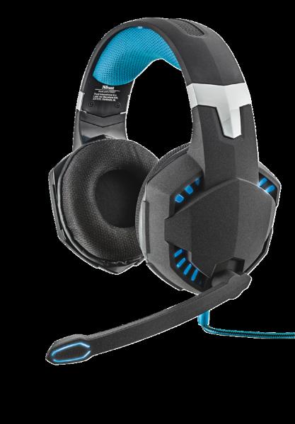 Trust 7.1 herní sluchátka s mikrofónem