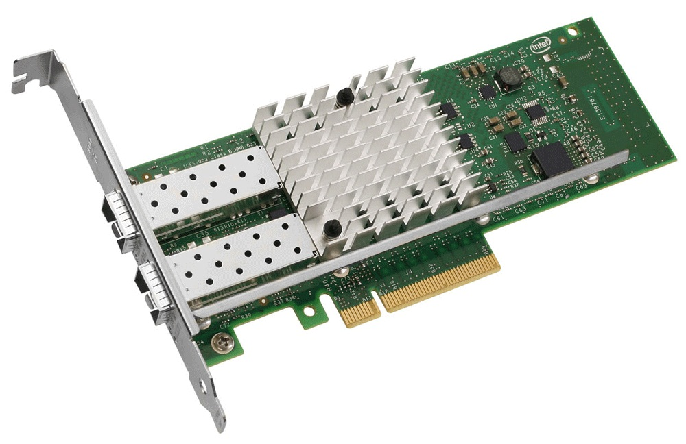 Intel® Ethernet Server Adapter X520-DA2, retail unit
