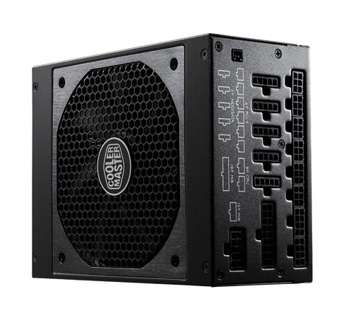 CoolerMaster zdroj Vanquard Platinum Series 1200W Modular PFC v2.3, 13,5cm hybrid fan