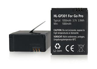 Hähnel HL-GP301 - GoPro AHDBT-301 1050mAh, 3.7V, 3,9 Wh